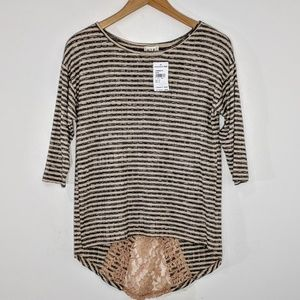 Nordstrom Lace T Shirt Top